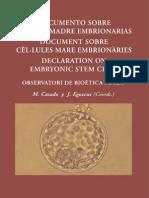 Celulas Madre Embrionarias