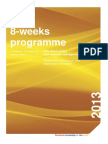 8-Weeks Petroleum Policy and Resource Management - Programme Information and Application Procedure 2013
