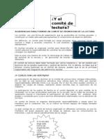 SUGERENCIAS PARA FORMAR UN COMITÉ DE PROMOCION DE LA LECTURA