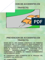 Prevencion Accidentes en Trayecto.