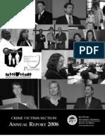 2006 Crime Victims Annual Report