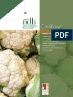 Cauliflowers m