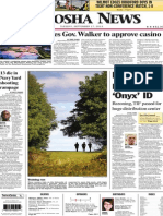 City Council Urges Gov. Walker to Approve Casino - Kenosha News 9-17-13