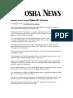 County Board urges Walker OK of casino