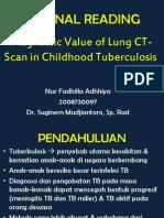 Jurnal Reading radiologi