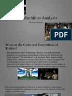 The Machinist Analysis.