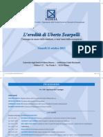 2013.10.11 Milano - L'eredità di Uberto Scarpelli
