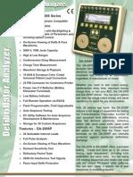 defibrillator analyzers