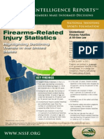 2013 Firearms Injury and Deer Collision Statistics - NSSF Industry Intelligence Report