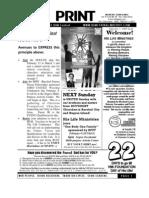 February1 2009 NewsletterBIG 1st Sunday