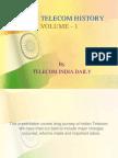 Indian Telecom History Volume-I