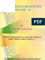 Indian Telecom History Volume-II