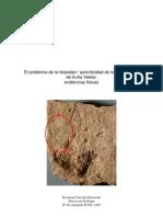 El problema de la falsedad-autenticidad de los ostracones de Iruña-Veleia
