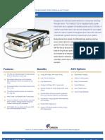 Conveyor Deck AGV Spec Sheet