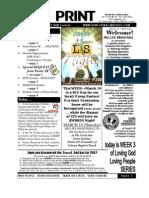 FIN March15 2009 Newsletter Big RantyPreaching