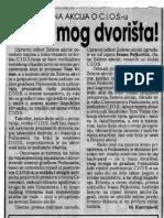 Kastratović (1997)- Slobodna Dalmacija, 22-11-1997