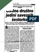 Gjenero (1999)- Novi list, 14-3-1999