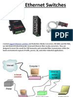 Rugged Ethernet Switches