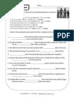 HW Possessive Pronouns
