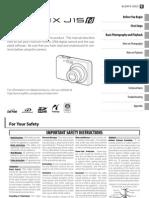 Fujifilm Finepix j15fd Manual