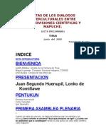 Anon - Dialogo Entre Cosmovisiones Cientificas Y Mapuche [Doc]