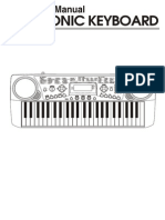 Electronic Keyboard MC-49 Manual