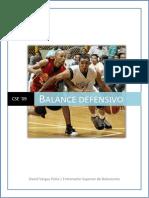 Balance Defensivo