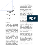 Eagles Cry, December 2001