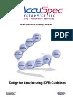 Dfm Guidelines Final 8-31-2010