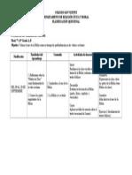 planificación didáctica 8