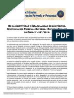 ADCM -Objetividadeimparcialidaddelosperitos-SentenciaTribunalSupremodeEspana