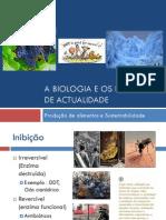 A Biologia e Os Desafios de Actualidade (Enzimas - Parte II)