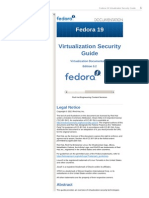Fedora 19 Virtualization Security Guide en US