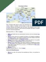 Cronología de Roma
