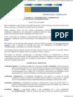 CONTRIBUIÇÃO SINDICAL _ CONFEDERATIVA _ ASSISTENCIAL