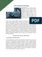 Sistema Tributario de Guatemala, Instituciones Encargadas Del Sistema Tributario