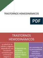 trast. hemodinámicos