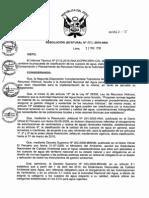 Clasificacion de Rios ANA