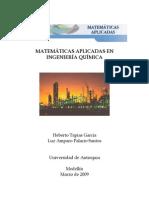 Matemáticas Aplicadas En Ingeniería química - Palacio, L.A.