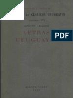 Gallinal, Gustavo - Letras Uruguayas
