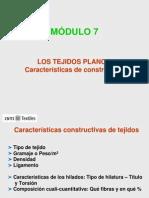 MÓDULO 7 - Tejidos Planos