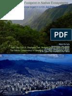 Mapping the Hawaiian Ecological Footprint HCC July 15 2013