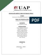 TECNOLOGÍA MÉDICA ÁREA DE TERAPIA FÍSICXZCZX