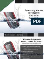 Marine B2100 Marketing Presentation