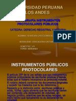 INSTRUMENTOS PÚBLICOS PROTOCOLARES DIAPOSITIVAS