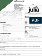 Julia (Programming Language) - Wikipedia, The Free Encyclopedia