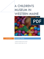 Western Maine Children's Museum--Final Report