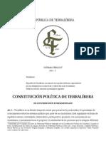 Constitución de Terralíbera 2013-2