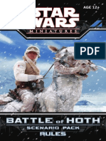 Star Wars Miniatures - Battle of Hoth Rulebook 2007