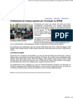 Prefeitura de São Mateus Computador Campo